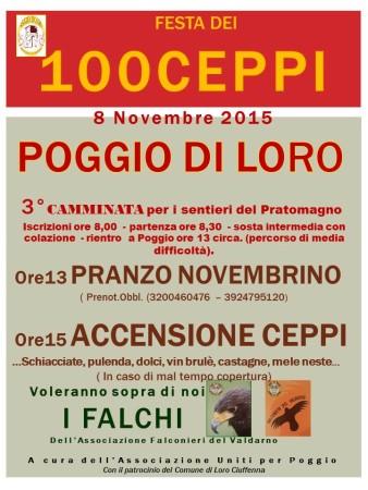 POGGIO DI LORO 8 NOVEMBRE 2015